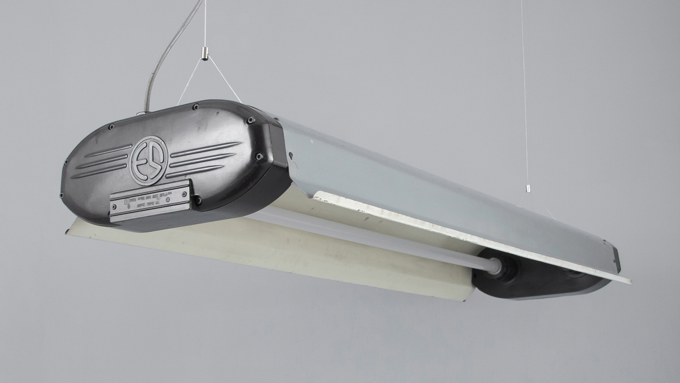 Retro glass wall lights and vintage linear pendants