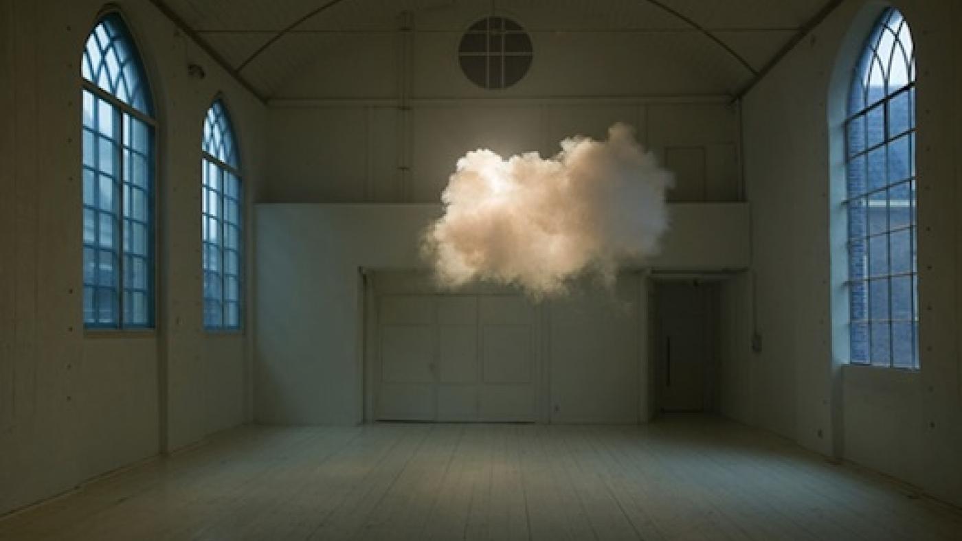Ephemeral clouds: the art of Berndnaut Smilde