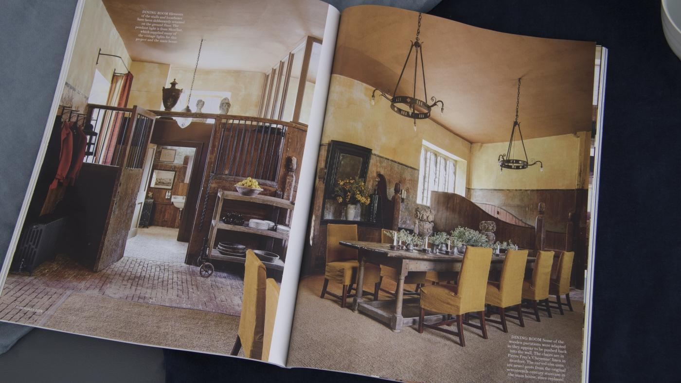House & Garden: skinflint vintage lighting