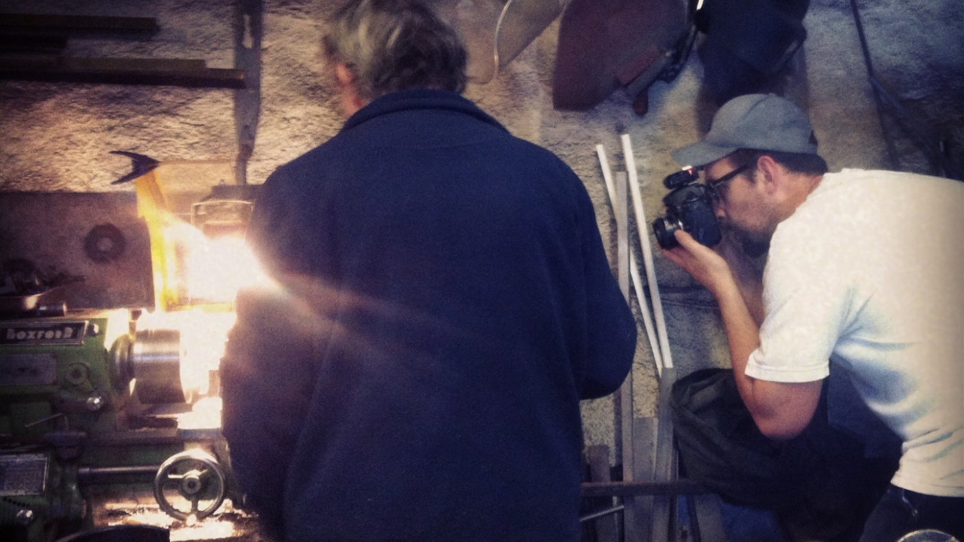 Behind the scenes at our recent workshop photoshoot