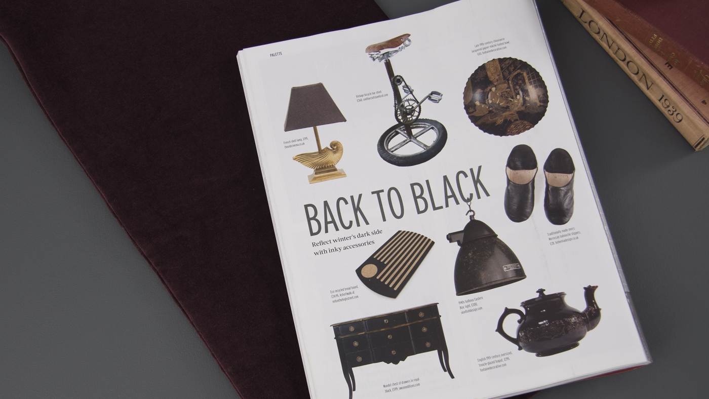 Reclaim Magazine - Back To Black