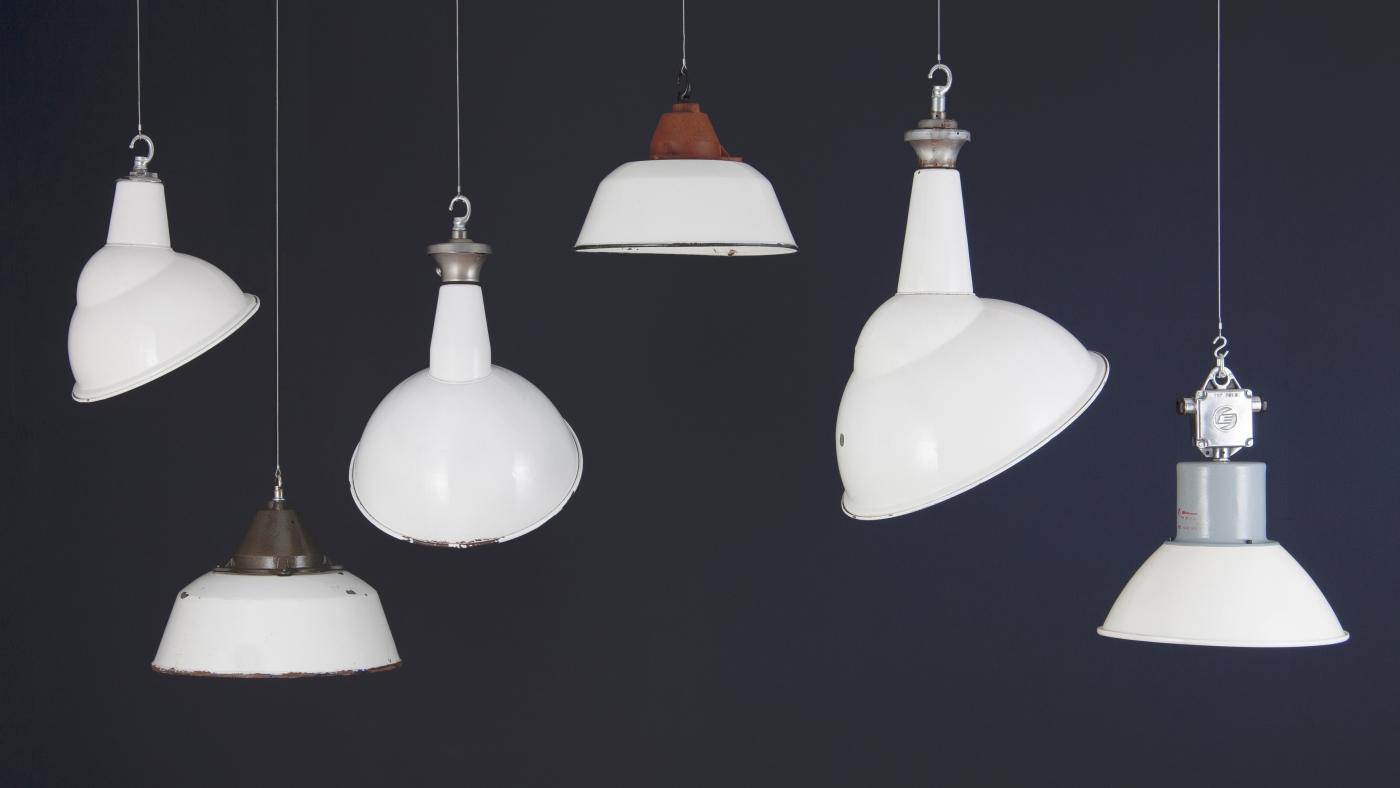 vintage lighting industrial lighting skinflint