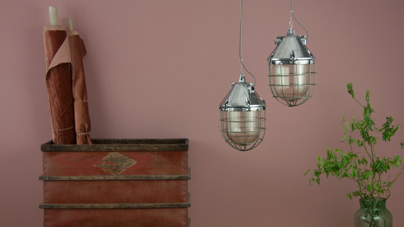 Caged Industrial Lighting