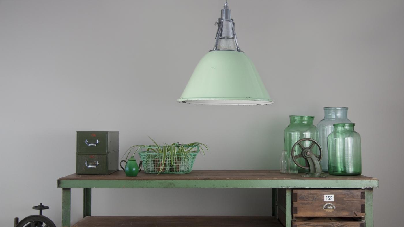 Green Enamel Shades
