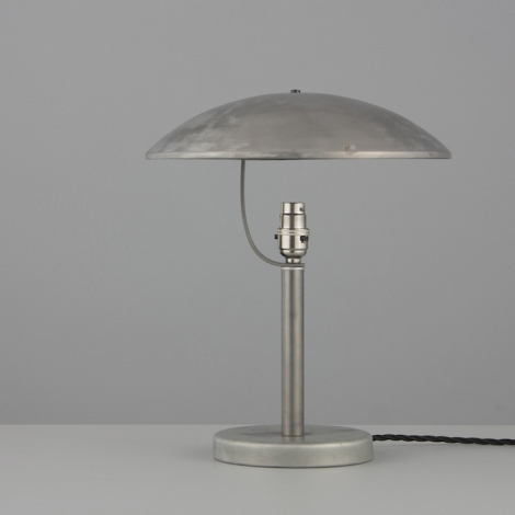 1930s vintage lighting archive skinflint czech steel table lights by napako aloadofball Image collections