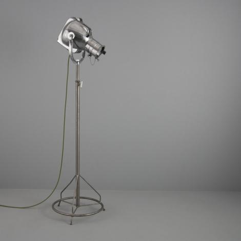 Vintage industrial floor lamps lights skinflint vintage strand projector floor light v2 aloadofball Image collections
