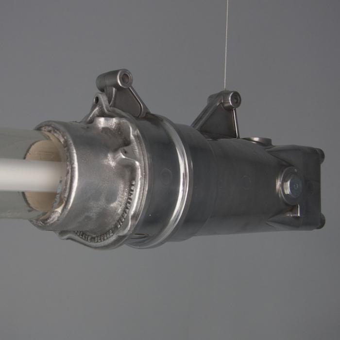 Vintage Industrial Fluorescent Light: Vintage Explosion Proof Lights @BX78