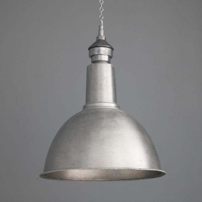 1950s vintage industrial lighting