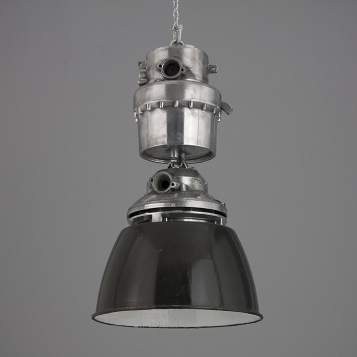 XL Czech Industrial Pendant Light