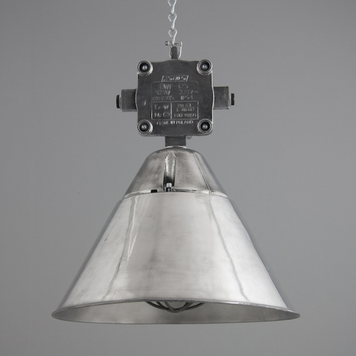 Polish industrial pendant lights