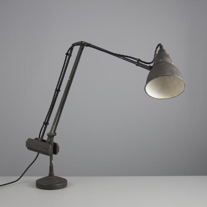 Vintage Counterbalance Desk Light Skinflint