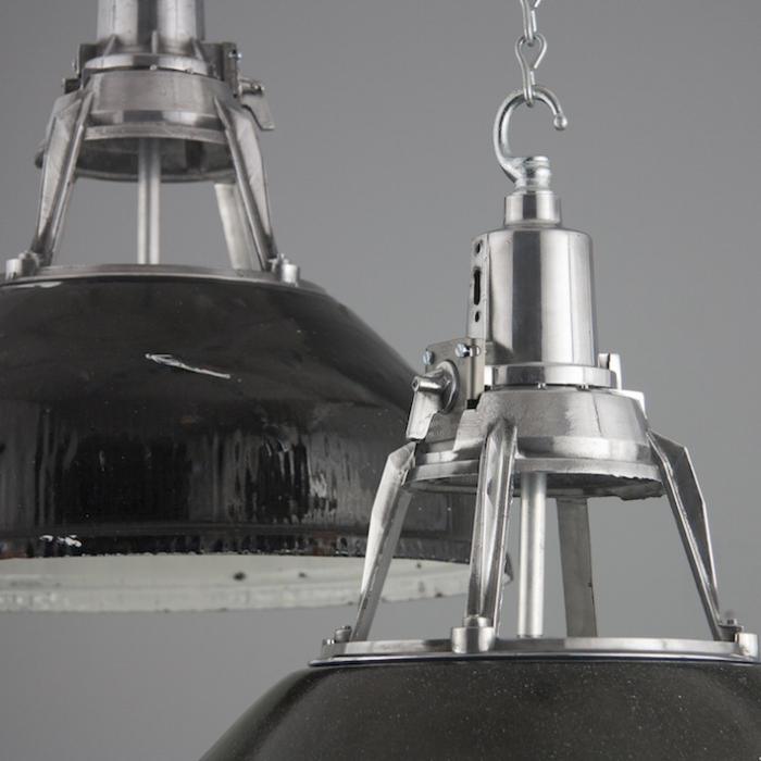 Vintage industrial Soviet pendant lighting Skinflint