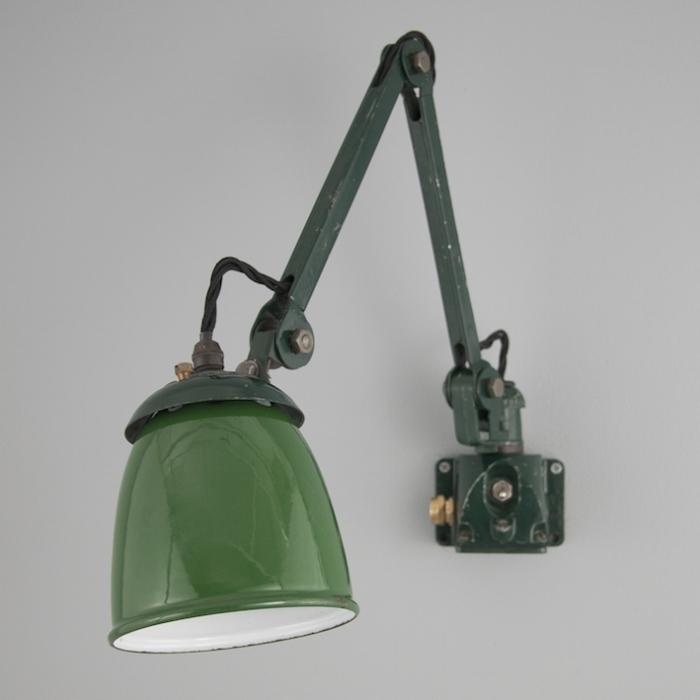 Vintage 1930s Machinist Light By Edl Skinflint