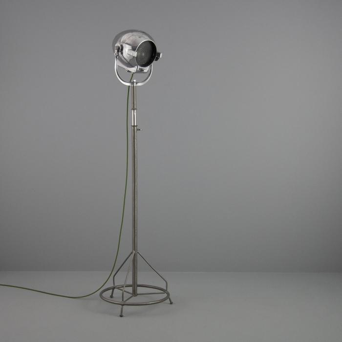 Vintage Strand Projector Floor Light V1 Skinflint