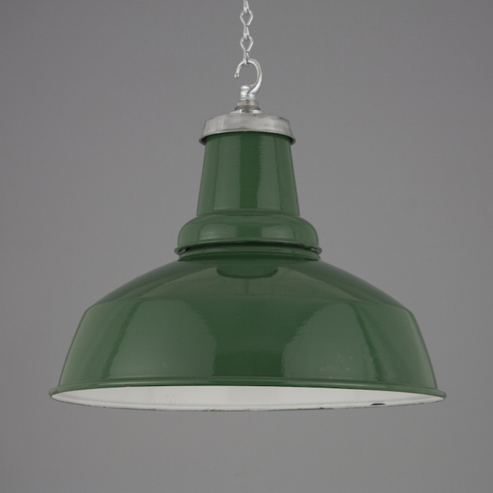 1950s Vintage factory pendants : vintage factory lighting - azcodes.com