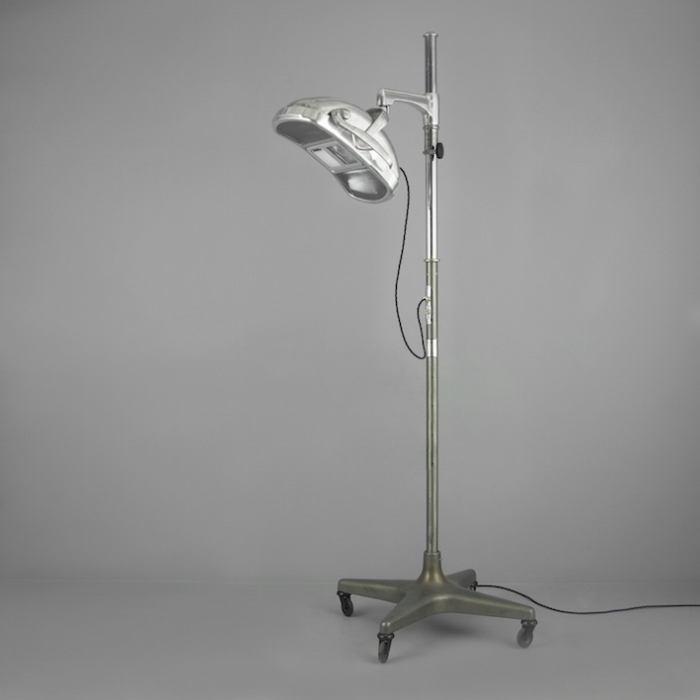 Vintage 1960s Dentist S Floor Light Skinflint